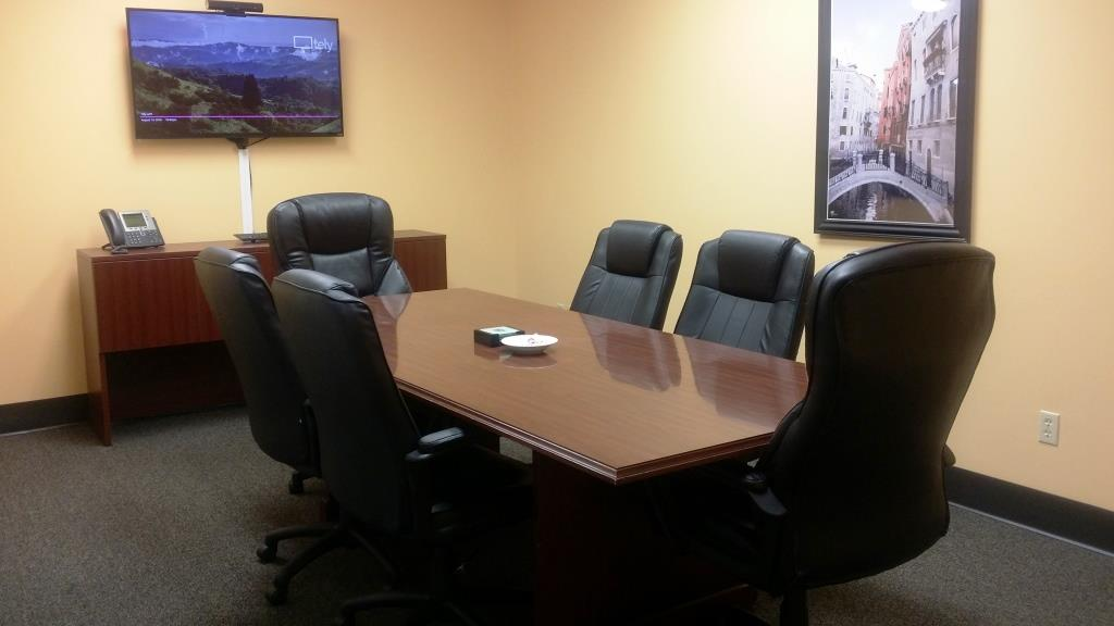 office conference room. The Concierge Office Suites - Conference Room V