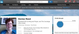 Denise reed's Linkedin Profile
