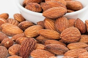 Almonds an office snack