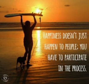 ProjectHappiness.com Happiness doesn't just happen to people; you have to participate in the process