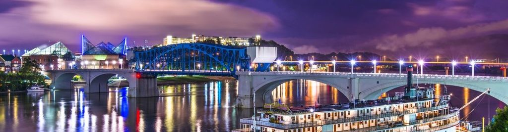 Chattanooga at night